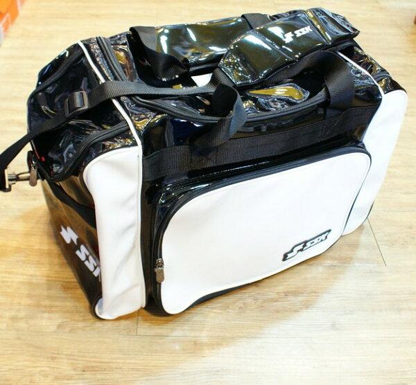棒球世界 SSK13年新款個人遠征裝備袋 特價 白黑配色