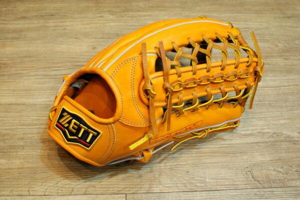 棒球世界 2013年新モデル ZETT プロステイタス 硬式 野球用 グラブ 外野手用最上級 特價