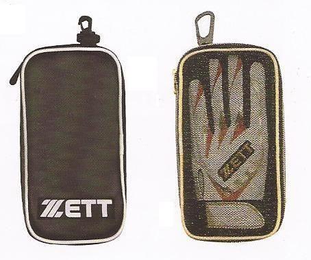 棒球世界全新ZETT 打擊手套專用袋 特價