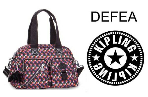 OUTLET代購【KIPLING】手提側背包 旅行袋 斜揹包 圓點 0