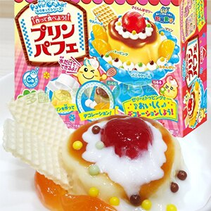 日本Kracie 知育菓子 知育果子 手作布丁聖代DIY 食玩 [JP449]