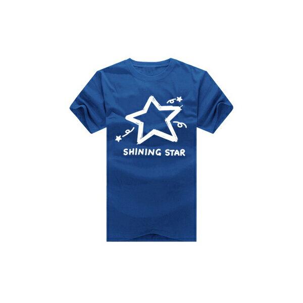 ◆快速出貨◆shining star塗鴉星.美式設計.T恤.班服.最佳情侶裝.純棉短T.MIT台灣製.短T【YC270】可單買.艾咪E舖 7