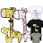 ◆快速出貨◆長頸鹿家庭.親子裝.T恤.班服.最佳情侶裝.純棉短T.MIT台灣製.短T【YC272】可單買.艾咪E舖 0
