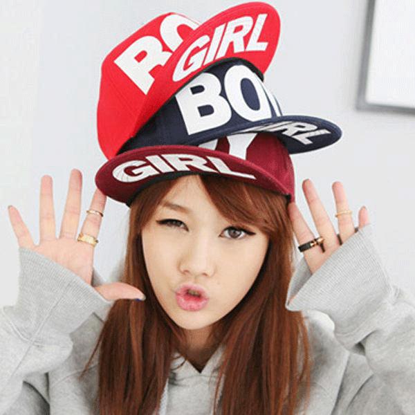 帽子 棒球帽 休閒帽 文字休閒風 BOY&GIRL棒球帽【C0008】艾咪E舖