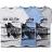 短T.造型短T.潮T.Tshirt.情侶裝.情侶T恤.麻花色系斑馬滿版印花【A05031】艾咪E舖.班服 0