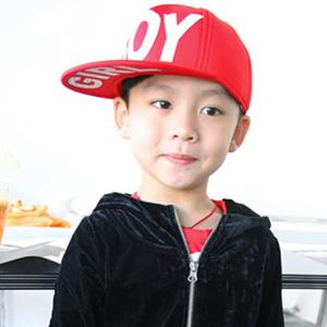 帽子 棒球帽 平版帽 鴨舌帽 BOY/GIRL美式棒球帽 平沿帽 兒童潮帽【C0047】艾咪E舖