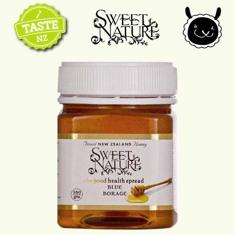 【壽滿趣】 Sweet Nature - 紐西蘭進口藍色琉璃苣蜂蜜(250gmx1 瓶) 0
