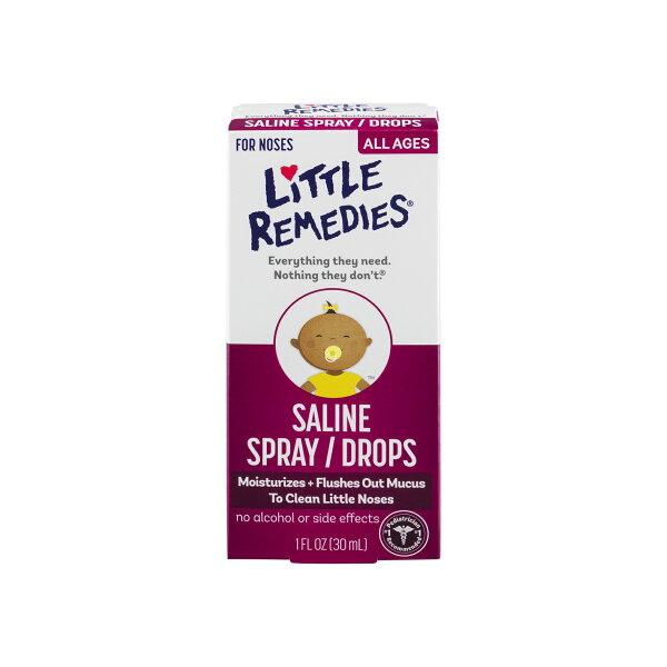 《★美國 Little Remedies》 嬰幼兒滴鼻劑 育嬰必備