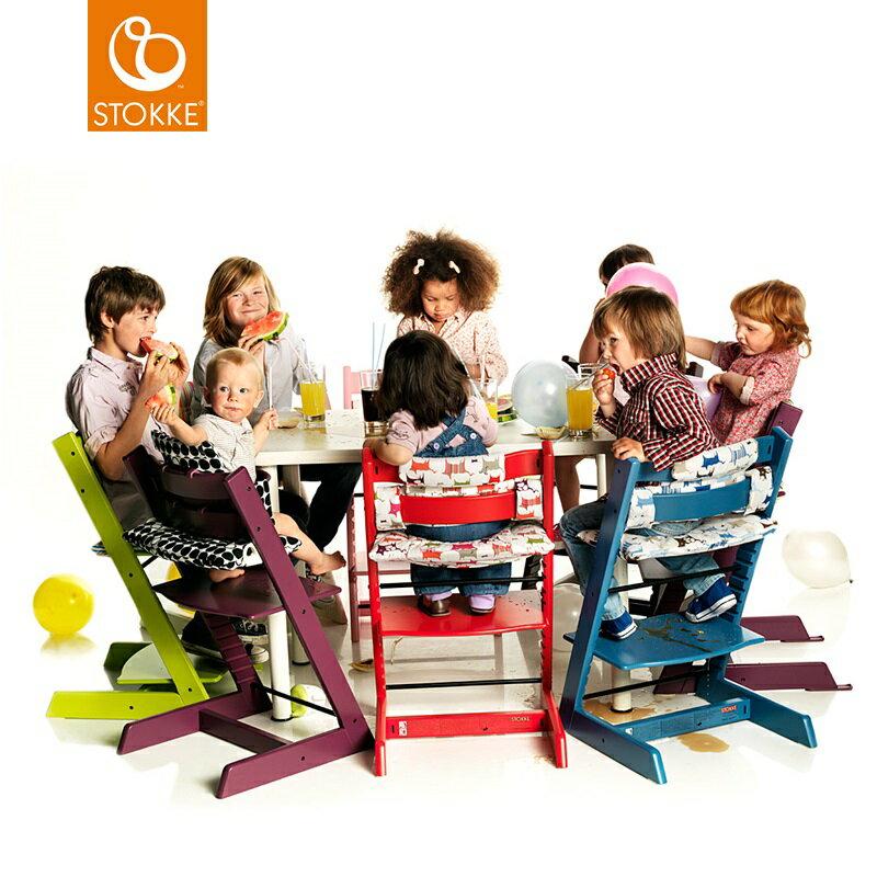 挪威【Stokke】Tripp Trapp 成長椅(岩橘) 3