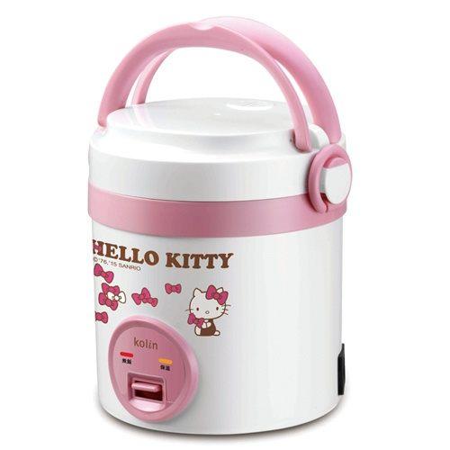 《省您錢購物網》福利品~【歌林 X Hello Kitty聯名款】1人隨行電子鍋(KNJ-MNR1230)