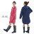 雨衣 輕薄防水拉鍊雨衣/風衣外套【EL1003】 BOBI  04/07 - 限時優惠好康折扣