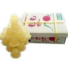 有樂町進口食品 日本進口 團購人氣商品 AS水果箱果凍 水蜜桃 552g/23粒 J150 4905491256843