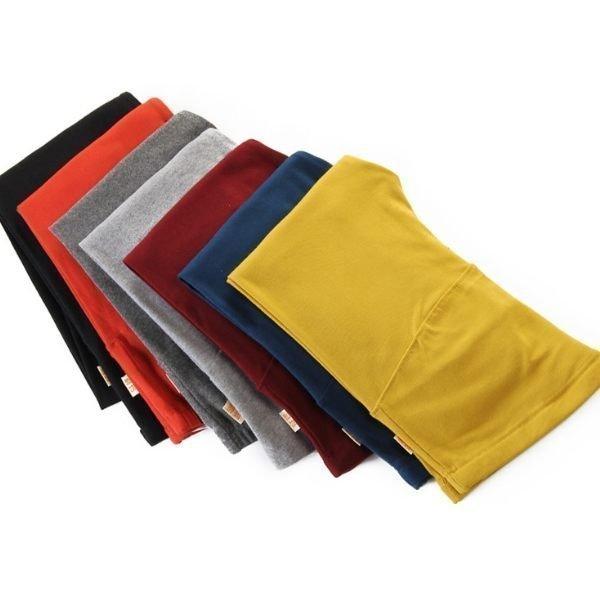 *漂亮小媽咪*colorful! 玩顏色孕婦內搭褲 孕婦純色保暖棉褲 可調式腰圍 0121