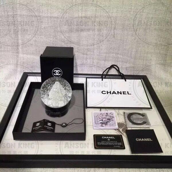 Chanel 香奈兒 小香 VIP 聖誕節 雪花 聖誕樹 贈品 送禮 情人節 水晶球 1