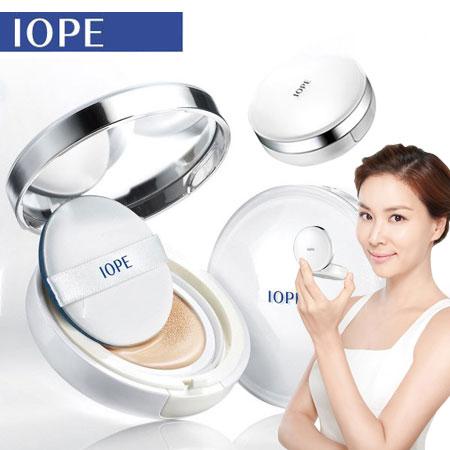 韓國 IOPE XP 水潤光感舒芙蕾粉凝乳 氣墊水凝霜 15g 千頌伊 氣墊粉餅 (附補充蕊x1)【N100599】