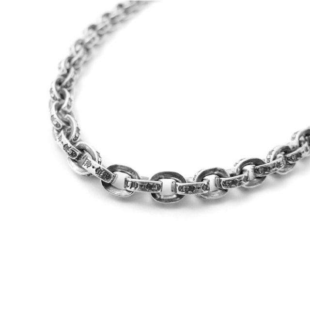 【海外訂購】【Chrome Hearts】Paper chain 鎖鍊型純銀項鍊 60cm(CHN-037-24 022360B600) 2