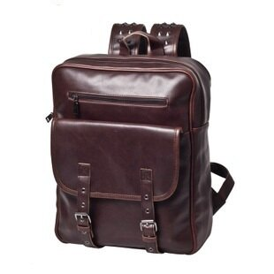 【瞎買天堂x最後二個】復古潮流鉚釘造型後背包 方正有型 可當書包 可放筆電 iPad【BGAA0210】