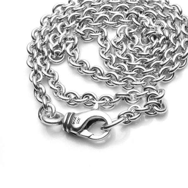 【海外訂購】【Chrome Hearts】NE chain 純銀項鍊 50cm(CHN-050-20  050460F300) 3