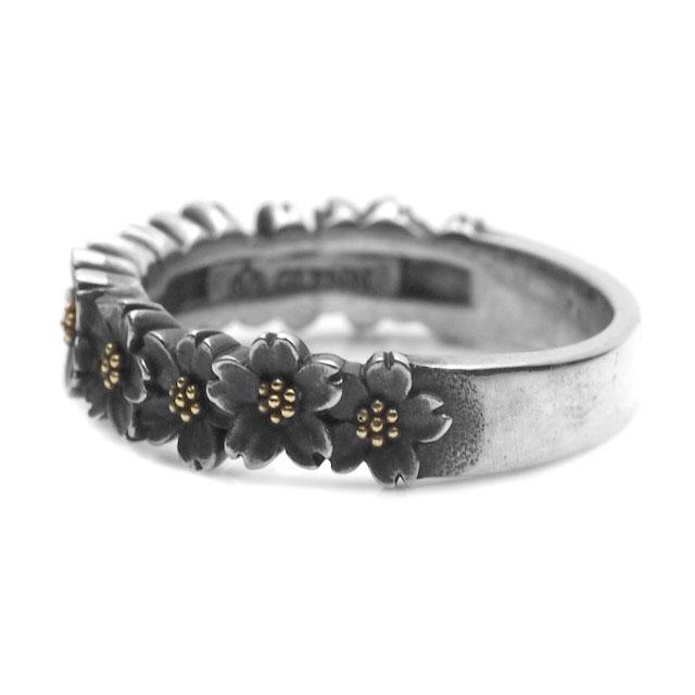 【海外訂購】【GLENN】櫻花環純銀戒指(GL-0080) 3