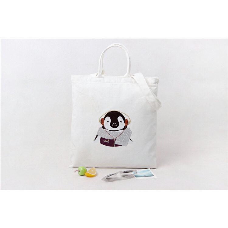 手提包 手提包 帆布袋 手提袋 環保購物袋--手提/單肩/拉鏈【SPA94】 BOBI  10/06 1