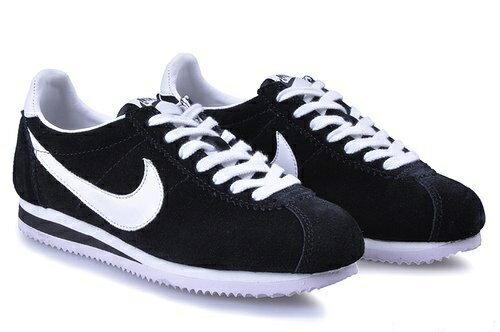 Nike 阿甘跑步鞋 經典款 黑白 男女鞋