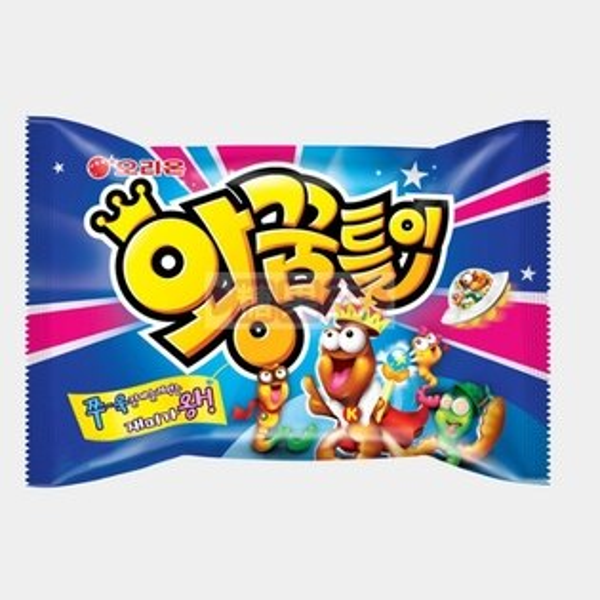 韓國Orion 毛毛蟲造型軟糖 少女時代最愛