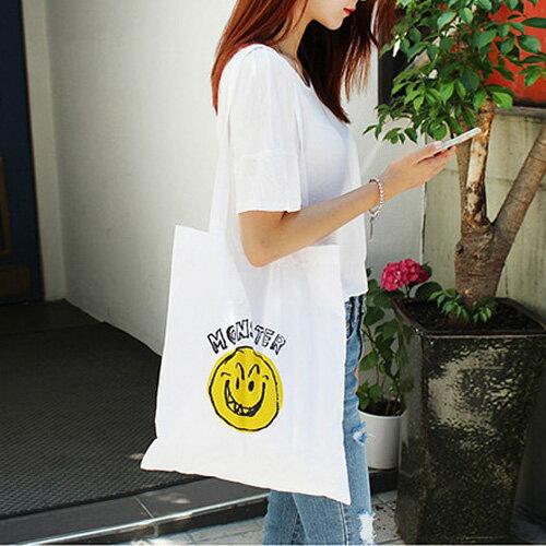 手提包 帆布包 手提袋 環保購物袋【SPYF14】 BOBI  11/10 0