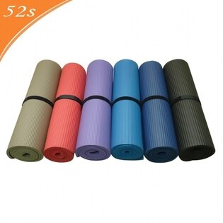 52s 經濟型超軟瑜珈墊 15mm HSC-YGM15(附贈瑜珈背袋)