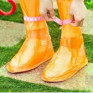 美麗大街【BFG57182577E1012】SAFEBET 彩色夏季新款戶外旅遊防滑雨鞋套 防水防雨加厚雨靴套 (36-38碼鞋用)