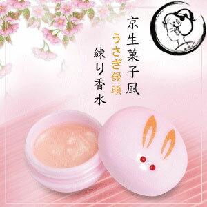 【京都舞妓】京都玉兔果子風味香水膏(水漾桃花)