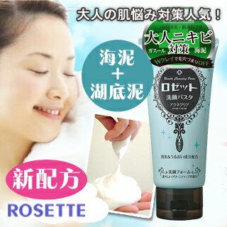 【ROSETTE】大人專用淨膚洗面乳(海泥┼湖底泥新配方)