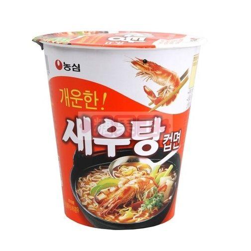 韓國泡麵 農心 鮮蝦杯麵
