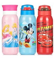 小熊維尼周邊商品推薦新款2015新品 Disney 迪士尼 不鏽鋼真空保溫吸管水壺/雙蓋兩用保溫壺350ML(公主/米奇/汽車/維尼)單售