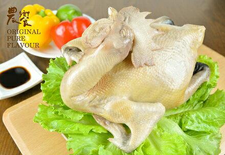 ~仲夏限定美食~農饗~水晶脆皮油雞~全雞包裝 1入 2入