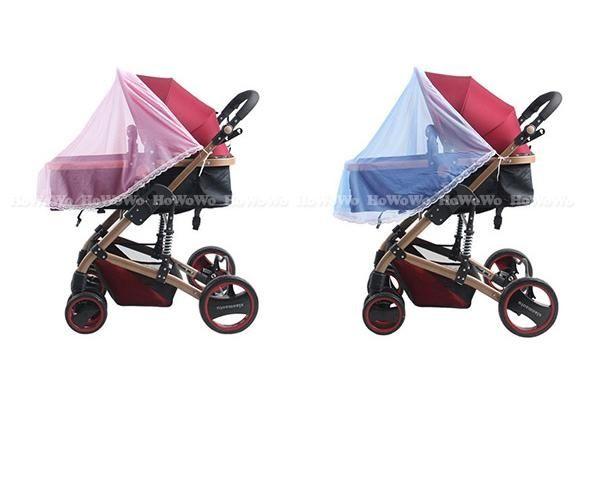 加大加密嬰兒手推車蚊帳 傘車蚊帳  半罩式 RA0625