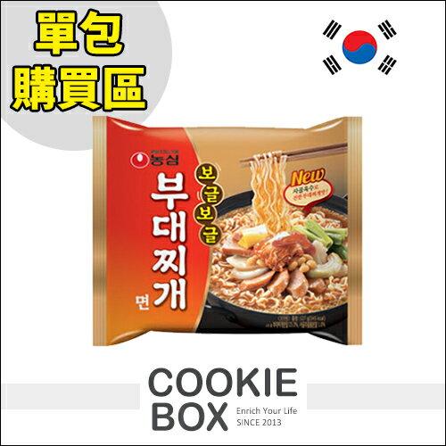 韓國 農心部隊鍋 Q拉麵 辣味 最新 單包 127g *餅乾盒子*