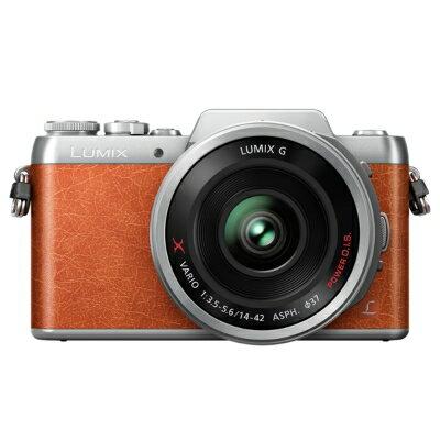 【純米小舖】panasonic LUMIX GF8+14-42mm X鏡 微單眼 (公司貨)-橘色系