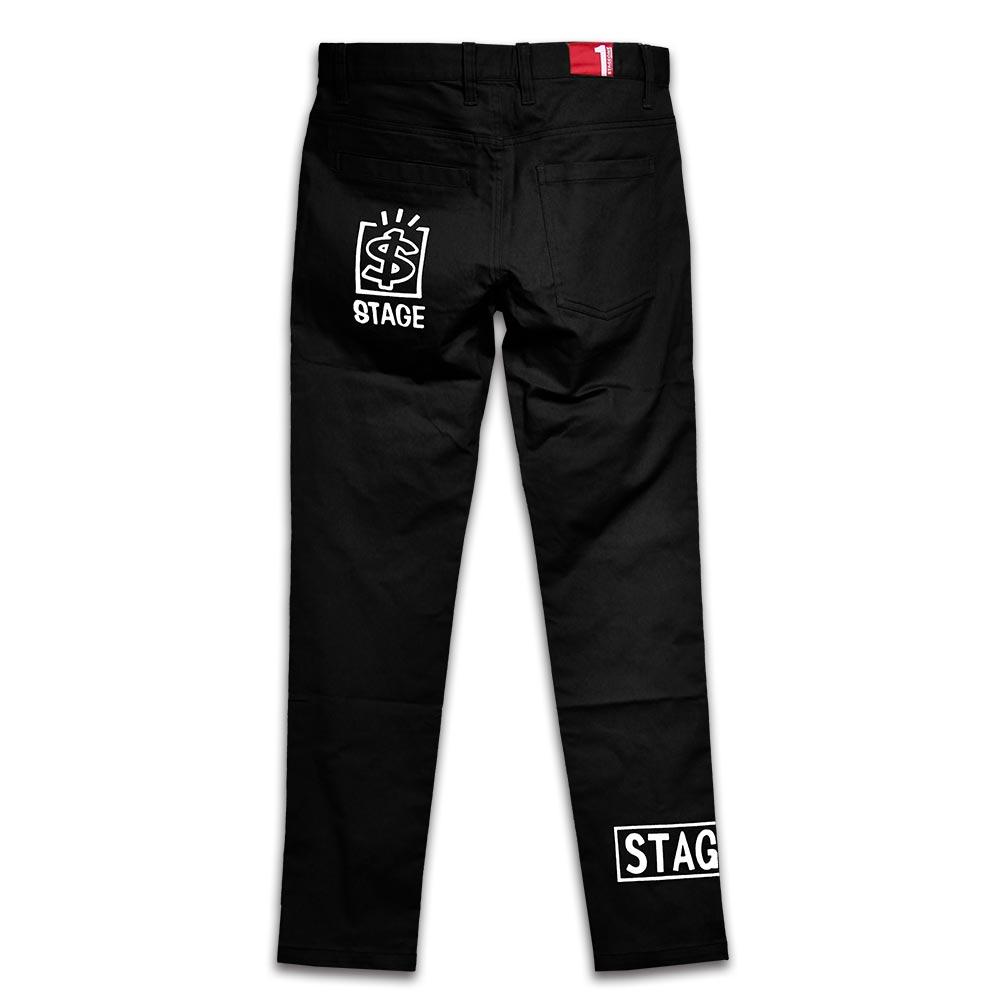 STAGEONE TALENT BOX PANTS 黑色 / 卡其色 兩色 5