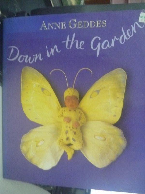 ~書寶 書T5/ _ZAU~Down in the Garden_Anne Geddes