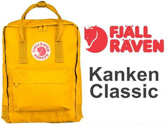 瑞典 FJALLRAVEN KANKEN Classic 141 Warm Yellow 溫暖黃  小狐狸包
