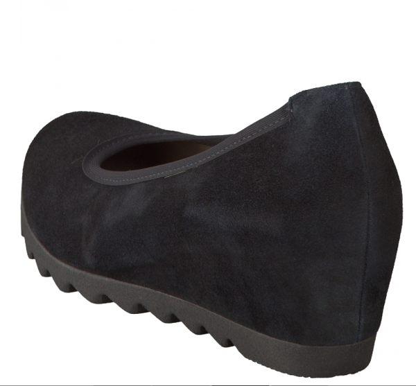 Gabor 英倫麂皮素面低跟鞋 2