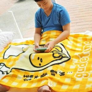 美麗大街~104100832~蛋黃哥毛毯 冷氣毯 被子 ~  好康折扣