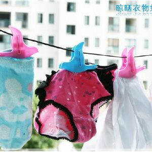 ** 美麗大街 **【BF97DAF】快樂小鳥造型多用途夾子/食物封口夾