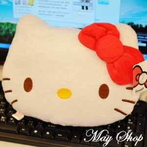 美麗大街【S101113】HELLO KITTY造型抱枕靠枕