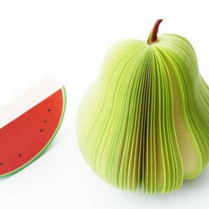 美麗大街【BFG02E1E5】水果造型便條紙便簽本