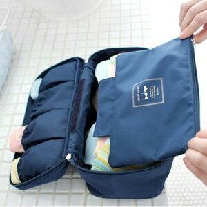 美麗大街【BFJ07E5E23】韓國Monopoly 多功能旅行內衣收納包