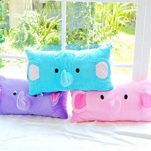 美麗大街【102081212】大隻大象長款造型抱枕/靠枕