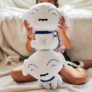美麗大街【103070508】蠟筆小新超可愛寵物小白12吋玩偶公仔