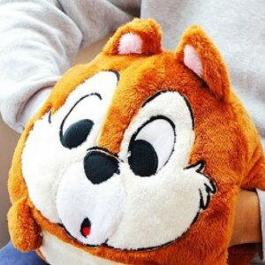 美麗大街【104012111】迪士尼奇奇蒂蒂花栗鼠12吋插手冬季暖手Q版手插抱枕