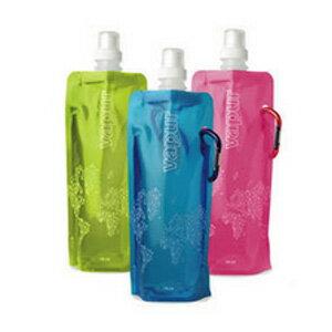 美麗大街【BFJ02E1E2EK56B】可折疊便攜式冷水袋水壺水瓶